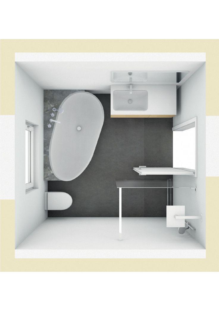 166 besten badarchitektur gut geplant bilder auf pinterest - Badewanne mit ablage ...