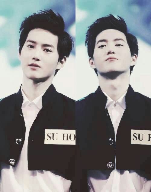 Joomnyun-ah.. why are you so fucking hot in this picture huh? I love the stare♡ #EXO #suho #joonmyun