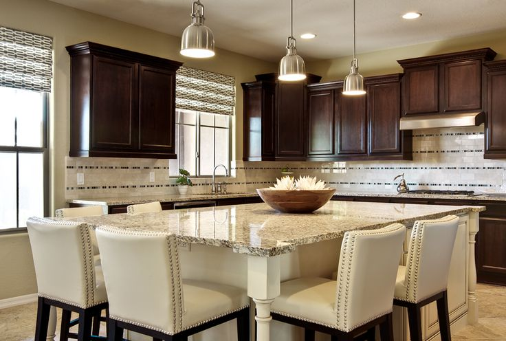 Kitchen islands that seat 8 kitchen with custom designed for Kitchen island table with chairs