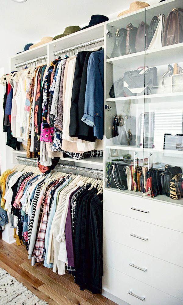 Ideas To Organize Your Closet Part - 30: 27 Closet Organization Ideas To Copy | How To Organize + Design Your Closet  | Built