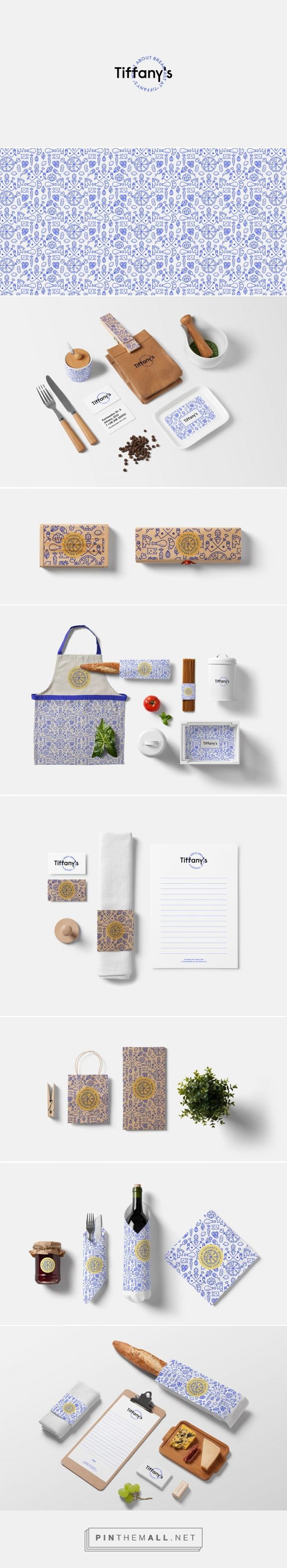 """Breakfast at Tiffany's packaging branding on Behance by Anna Trympali curated by Packaging DIva PD.The color and the look & feel of this project is inspired by the Deep Blue Something's song, """"Breakfast at Tiffany's"""". Too bad it's not real."""