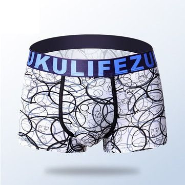 Casual Ice Silk U convex Pouch Boxers Icy Breathable Quick-Dry Underwear For Men Online - NewChic