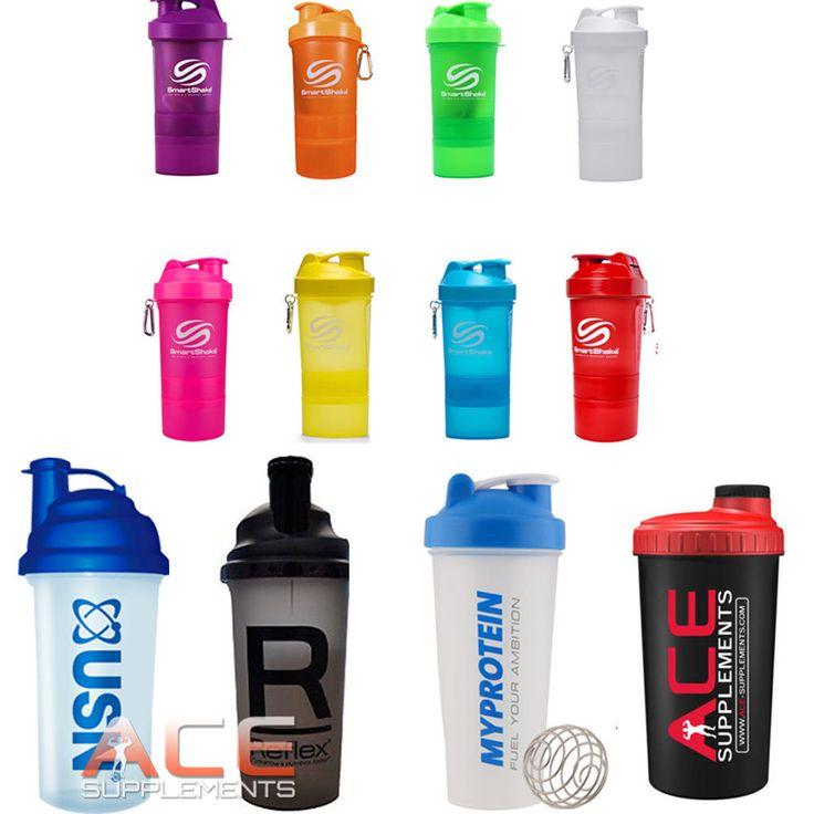 Protein Shaker Mixer Bottle USN Reflex MyProtein ...