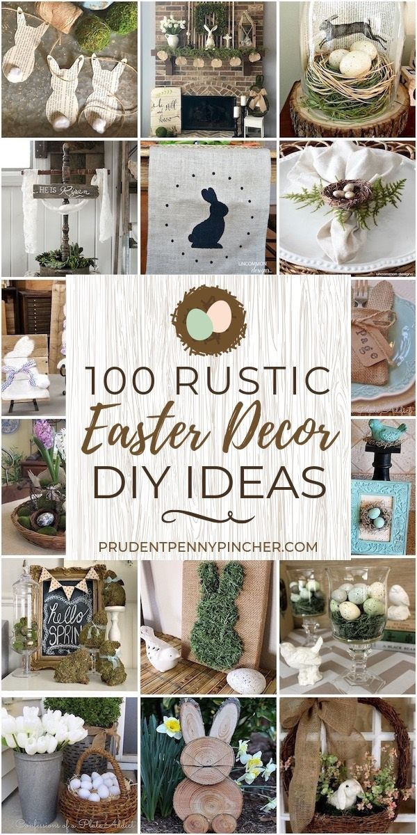 100 Diy Rustic Easter Decorations Rustic Easter Decor Spring