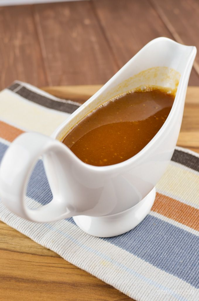 Some dinners are just not complete without a delicious Syn Free Gravy like this to pour over your plate and this one tastes amazing!!