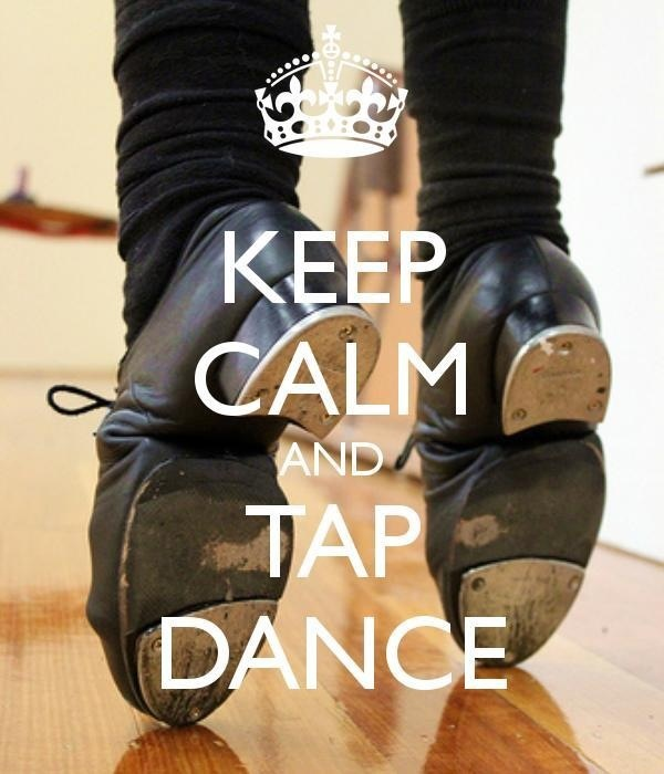 Keep Calm Tap Dance ~ print as filler card for weekly layouts