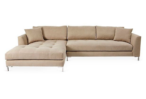 One Kings Lane The Relaxed Resort Grant Sectional