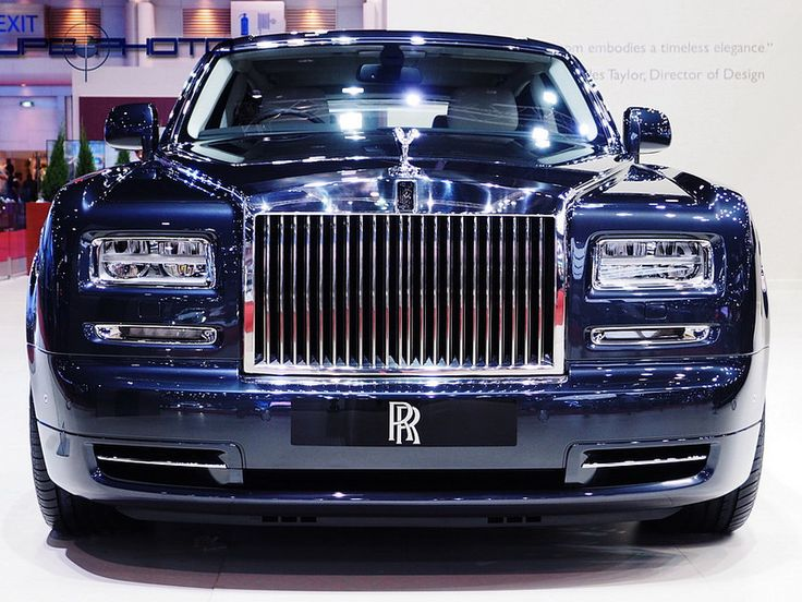 Rolls Royce Phantom    The 35th Bangkok International Motor Show 2014