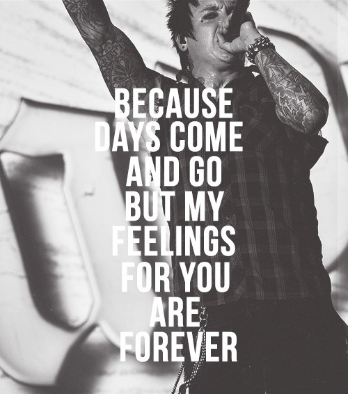 Forever - Papa Roach, Jacoby Shaddix can't wait to get this as a tattoo!