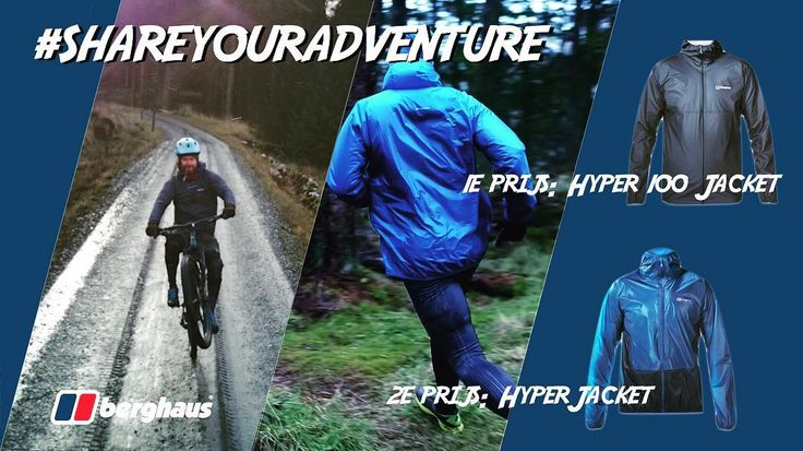 Mountainbikers trailrunners hardlopers klimmers wandelaars outdoor sporters: Opgelet! Je kunt nu een Berghaus Hyper of een Berghaus Hyper 100 jacket -  t.w.v. respectievelijk 15995 en 29995 - winnen!  Gratis dus! Wat moet je doen? 1. Laat ons weten welk avontuur jij gaat meemaken met de jas. Van dat avontuur plaats je dan later nog onder de noemer #shareyouradventure een paar keer een gave post op je favoriete social media account 2. Je bent natuurlijk fan van GearLimits ;-) dus like en…