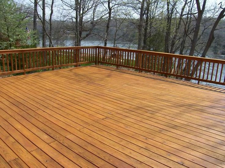 Pin By Daz Warburton On Property Stuff Cedar Deck Deck