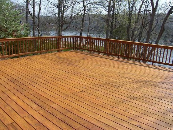 Pin By Daz Warburton On Property Stuff Cedar Deck Deck