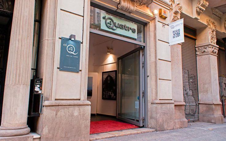El Quatre. C/Roselló, 193 C.P 08036 BARCELONA. Tel: 93-217-85-23 E-mail: elquatre@elquatre.com