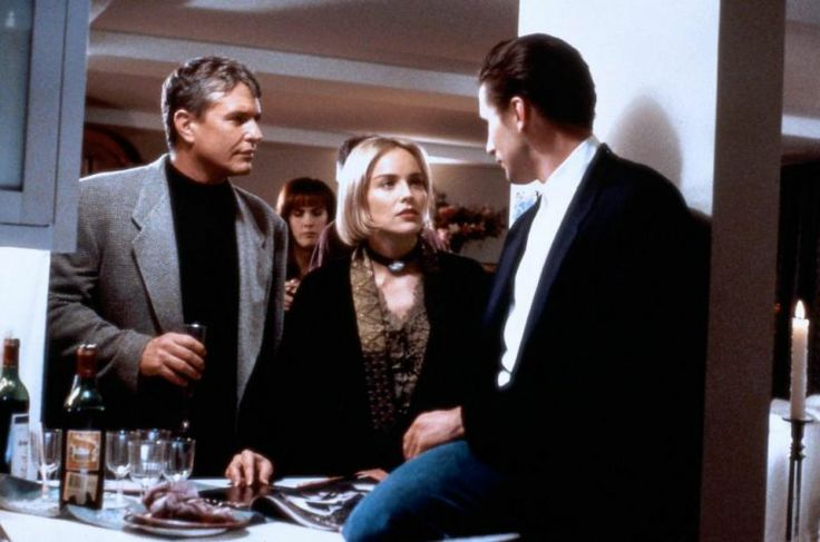 Sharon Stone hair in Sliver