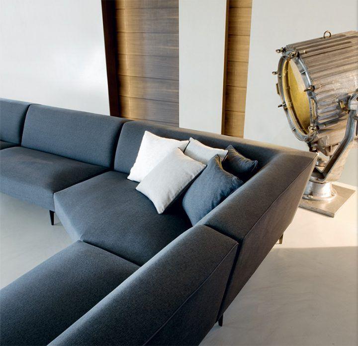 DREW: New Modern Comfy Sofa By Valentini.