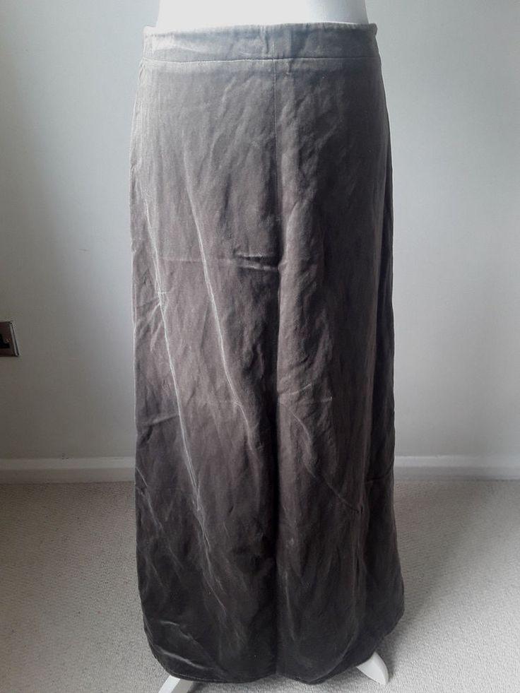 Toast velvet maxi skirt #Toast #Maxi