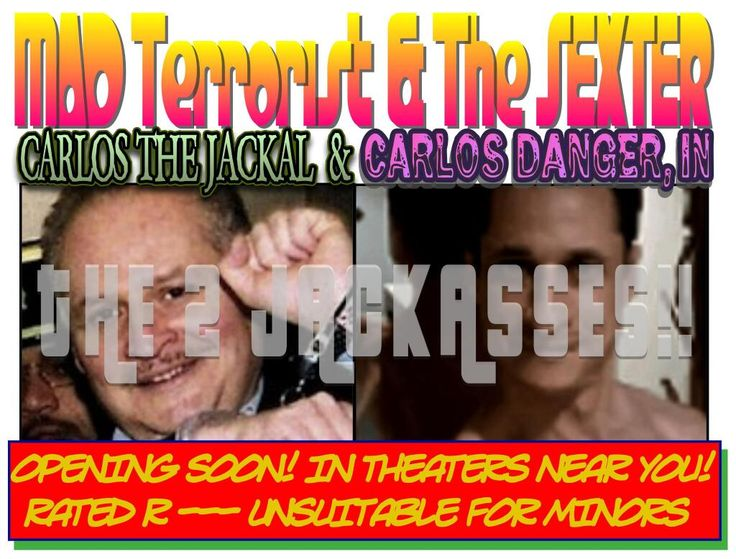 Twitter / MarcChamot: not because of Carlos the Jackal..When I painstakingly went through the rating process for this movie. I had to make it unsuitable for minors, not because of Carlos the Jackal, it's because what Carlos Danger does!!
