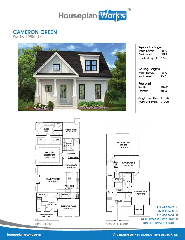 Cameron Green In 2020 Retirement House Plans Simple House Plans Small House Plans