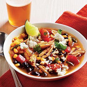 Tex-mex chicken soupTomatoes Recipe, Chicken Soups, Tex Mex Chicken, Cooking Lights, Soup Recipe, Texmex Chicken, Favorite Recipe, Healthy Chicken, Recipe Chicken