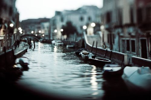 "Venice, Italy. (That is, if I can pronounce ""Venice"" right)"