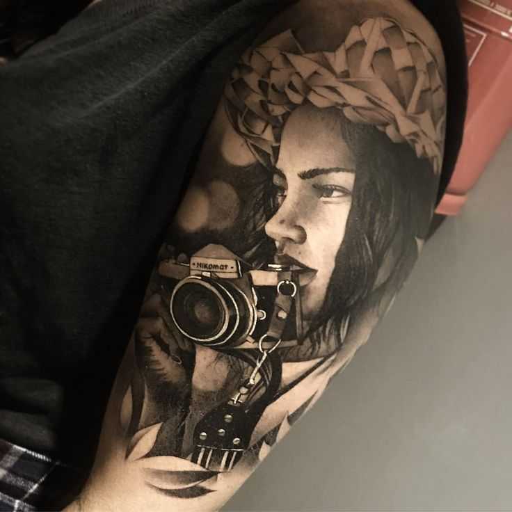 Realistic Tattoo by Matias Noble