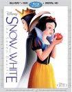 Snow White & The Seven Dwarfs (Blu-ray/DVD) (Digital HD Copy) - Larger Front