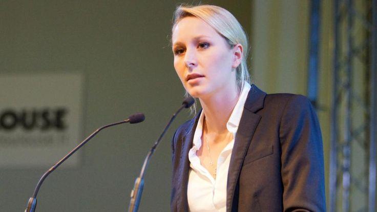France. Marion Marechal Le Pen en campagne à Toulouse, le 21 novembre 2015. | CITIZENSIDE/STEPHANIE GOUIRAN / CITIZENSIDE.COM