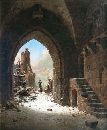 Burg Falkenstein im Harz. Wilhelm Steuerwaldt
