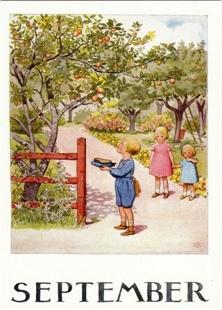 September - Elsa Beskow