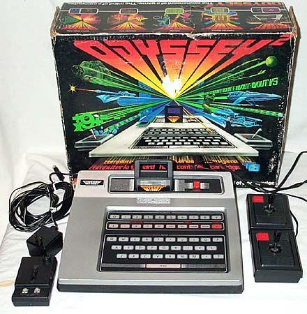 Old Intellivision Odyssey II (1970s)