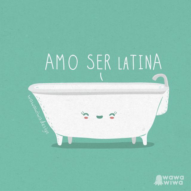 Amo ser latina by Wawawiwa design, via Flickr