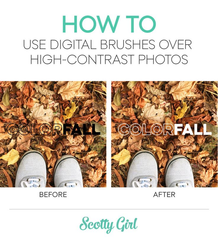 Digital Project Life Tip: How to Use Digital Brushes Over High Contrast Photos