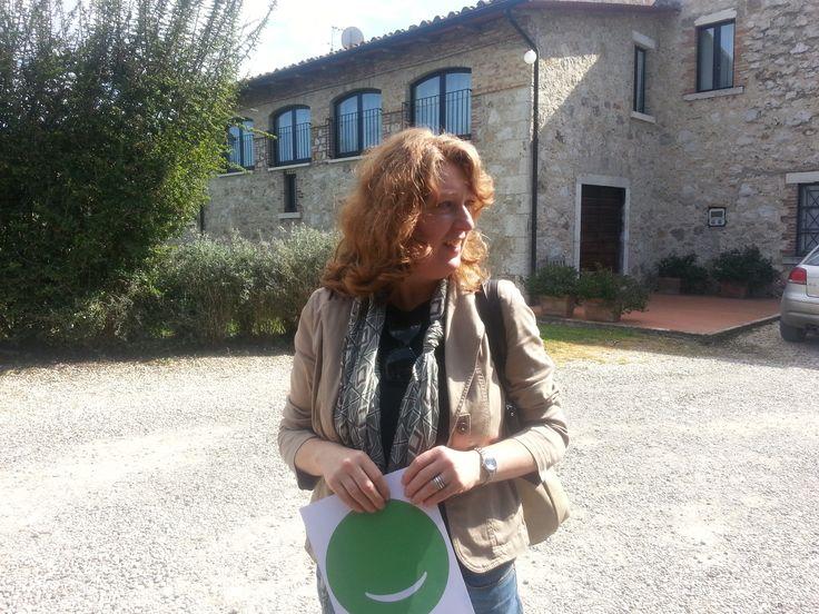 @Patrizia Kuehn Soffiati a @Villa Webb Acquaviva per @Cowinning #storylady