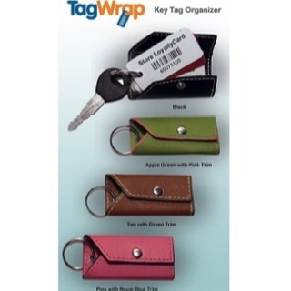 Mother's Day is coming up!  Help her organize her keychain!  $8.99. www.tagwrap.com.