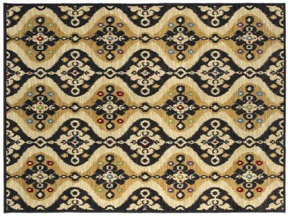 AreaRug Malta - 3VE53 - Black - Flooring by Shaw
