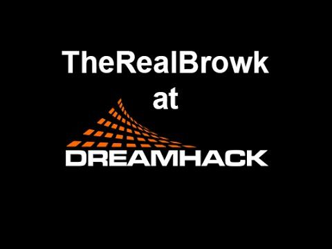 TheRealBrowk keeping it real! DHW15