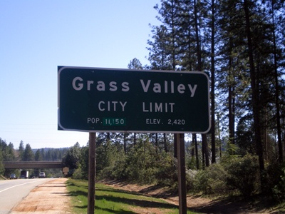 Grass Valley, CA- I love the Gold Rush  and history found here and in Nevada City
