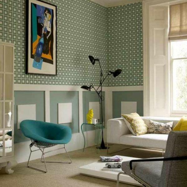 Retro Tapeten Sind Wieder Im Trend Zuhause Tapeten Und Schoner Wohnen
