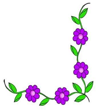 Carátulas para trabajos escolares primaria secundaria - bordes de flores…
