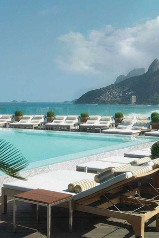 Fasano, Rio De Janeiro, Brazil #hotelinteriordesigns