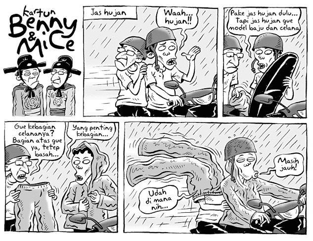 Benny & Mice, Kompas - 1 Des 2008: Jas Hujan