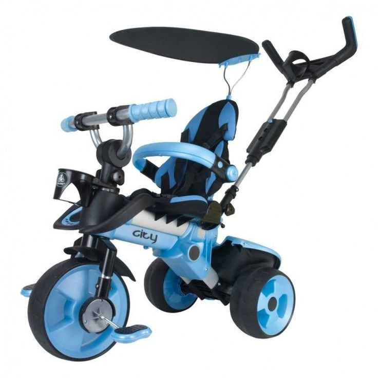 Toddler Ride On Car Vehicle Christmas Xmass Gift Children Tricycle Pedal Blue #ToddlerRideOnCar