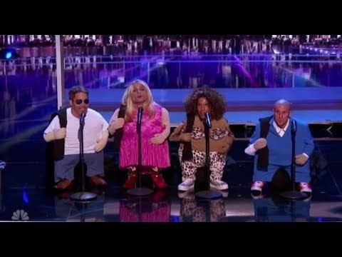 The Quiddlers Surprise by Playing TINY LITTLE AGT Judges | America's Got Talent 2017 - YouTube