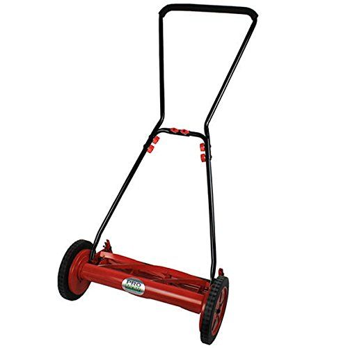 ProMow 18 5Blade Push Reel Lawn Mower __powerequipmentdirect *** Details can be found by clicking on the image.