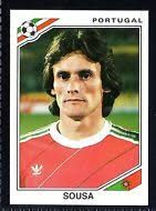 Image result for mexico 86 panini portugal sousa