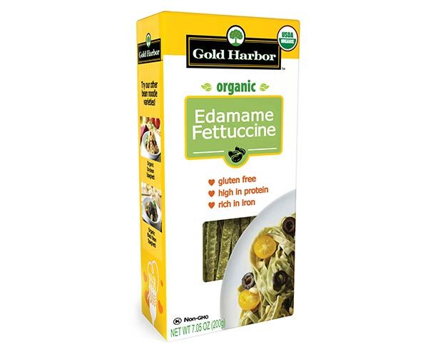 Seapoint Farms Organic Edamame Fettuccine 6 Pack Low Carb