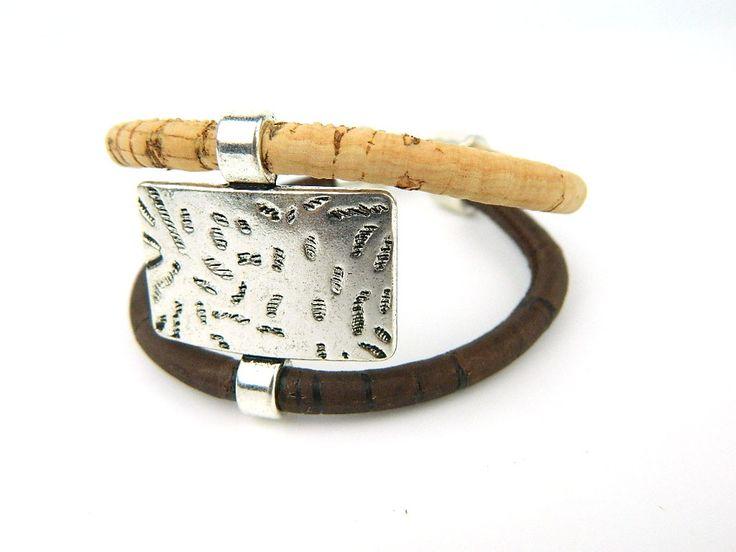 Aliexpress.com: Koop Uit Europa Portugal Pulseras Kurk sieraden armbanden, zachte natuurlijke hout kleur mode armband, Portugal specialiteit REF 441 van betrouwbare armband knoop leveranciers op MB Cork
