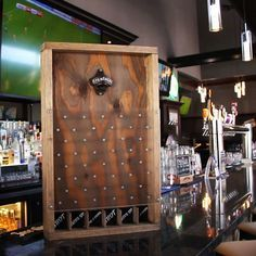Get your drink on with this DIY Drinko Plinko game!