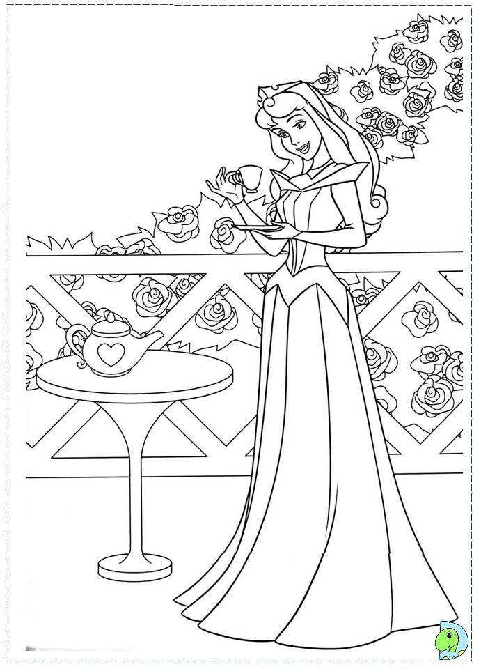 Coloring Page Disney PagesColoring Book