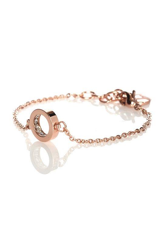 Edblad - swedish design- Monaco bracelet thin rose gold